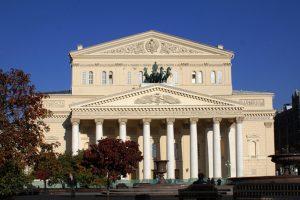 Первая очередь реставрации главного фасада Большого Театра России