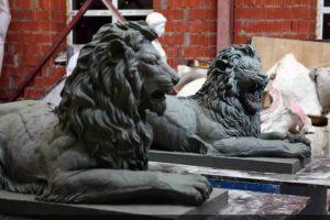 Модели львов для отливки