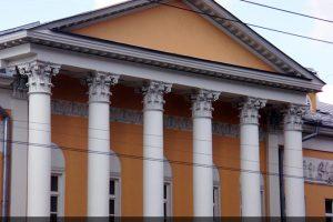Реставрация фасада Дома-усадьбы Муравьевых-Апостолов. на Старой Басманной