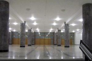 Реставрация колонн из оселкового мрамора в здании Федеральной службы Государственной статистики на Мясницкой