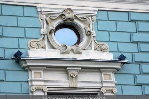 Реставрация архитектурно-лепного декора Школы современной пьесы