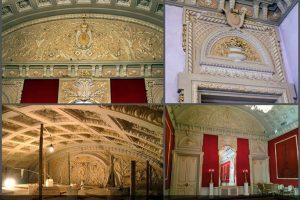 Реставрация архитектурно-лепного декора в Бетховенском зале Большого Театра