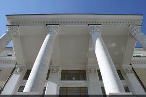 Лепной декор портика главного фасада Филиала Большого Театра России
