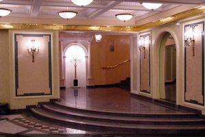 Оселковй мрамор в интерьере Филиала Большого Театра - Новая сцена