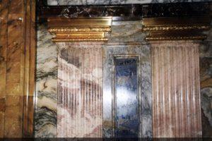 Реставрация оселкого мрамора Церкови Николая Святителя в Толмачах