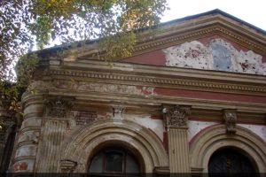 Фасад Храма Святой Великомученицы Ирины до реставрации