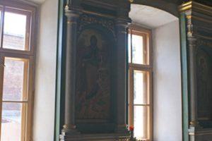 Альфрейная роспись под мрамор и золочение в Ириниском Храме
