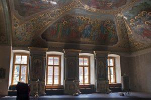 Реставрационные работы в интерьере Храма Ирины