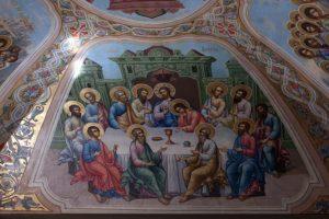 Рестарвация живописи в Храме Св. Великомученицы Ирины