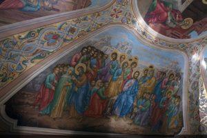 Ореставрированная живопись в Храме Св ВМц Ирины в Покровском