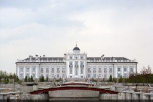 Фасад Истринской усадьбы