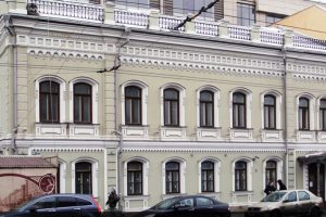 Реставрация фасада на ул Малая Дмитровка д 7