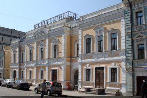 Реставрация фасада на ул Малая Дмитровка д 9