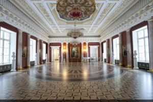 Реставрация колонн из оселкового мрамора музея-Усадьбы Царицыно
