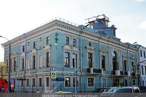 Театр Школа современной пьесы Реставрация фасадов