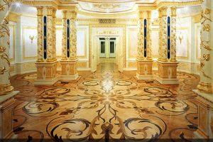 Лепной декор и золочене в Центре Православного Наследия в Переделкино